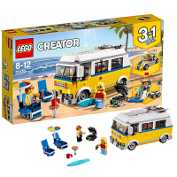 【当当自营】LEGO乐高阳光海滩房车 31079