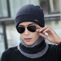 男士套头帽子冬季青年户外时尚护耳潮针织毛线帽