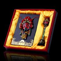 脸谱摆件挂件人物脸谱笔套装中国产礼品送老外出国礼物