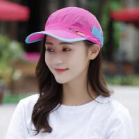 帽子女遮阳帽防晒逛街百搭棒球帽韩版潮户外太阳帽时尚运动鸭舌帽