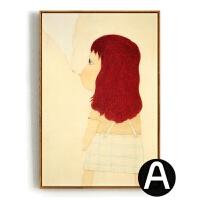 情感奈良 现代经典无框装饰画挂画墙画壁画|卧室客厅餐厅卧室书房