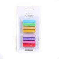 晨光8粒装5号7号彩虹干电池儿童玩具碱性鼠标遥控器键盘电池 7号彩虹款