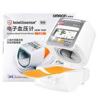 Omron/欧姆龙 上臂式电子血压计 血压仪 HEM-1020 家用高端智能快速测量高血压仪器 操作简单 安全无忧 自