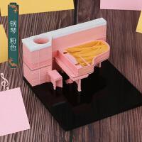 ��意�W�t抖音�雕便��本日本清水寺3D古�Lins立�w建筑模型便利�N