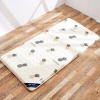 防滑榻榻米海绵床垫1.5米1.8m学生宿舍棉絮垫被1.2可折叠地铺睡垫