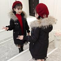 儿童2018新款韩版中大童洋气冬季棉衣厚款外套保暖棉袄女孩