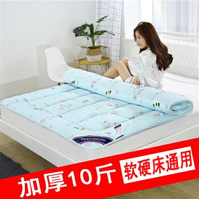 床垫子1.8m床2米双人褥子1.5m棉花褥垫被学生宿舍单人1.2铺榻榻米j