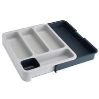 可伸缩厨房抽屉整理盒餐具收纳分隔板刀叉筷子勺置物架