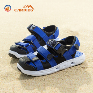 CAMKIDS男童鞋2018新款韩版夏季中大童户外凉鞋儿童沙滩鞋女