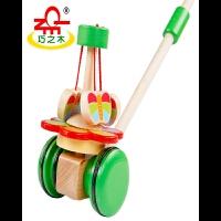 动物单杆手推车学步车旋转玩具婴儿童宝宝助车 益智玩具
