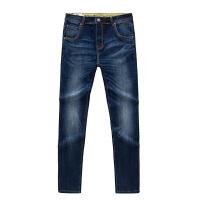 20180317212216894新款软直筒男士牛仔裤 牛仔蓝色