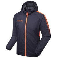 KELME卡尔美 K081 足球运动户外风雨衣 防风防水训练外套 休闲运动夹克