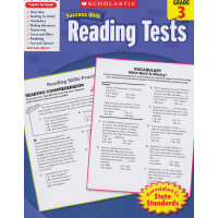 Scholastic Success with Reading Tests: Grade 3 学乐必赢阅读:3年级阅读