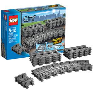 [当当自营]LEGO 乐高 城市系列 列车轨道 积木拼插儿童益智玩具 7499