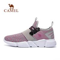 【领券满299减200】camel骆驼运动跑步鞋 女款轻便透气耐磨跑鞋时尚跑步鞋