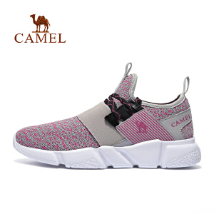 camel骆驼运动跑步鞋 女款轻便透气耐磨跑鞋时尚跑步鞋