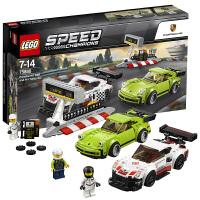 【当当自营】LEGO乐高超级赛车系列保时捷 911 RSR和保时捷 911 Turbo 3.0 75888 2018