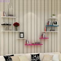 墙上一字隔板置物架创意墙壁搁板电视墙装饰书架储物挂架
