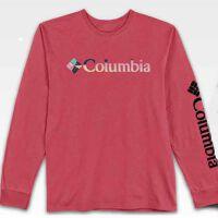 Columbia 哥伦比亚 男士户外经典长袖LOGO休闲T恤 3COLM0529LBB