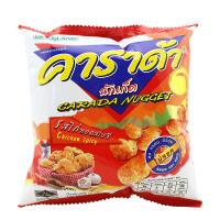 泰国进口卡啦哒香辣鸡味米球17克膨化米球休闲零食