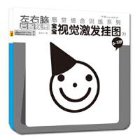 封面有磨痕-XX-感觉统合训练系列:宝宝视觉激发挂图(0-3岁.全两册) 真果果 9787802023079 中国人口