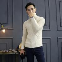 粗线针织高领毛衣加厚修身厚款毛衣打底衫潮