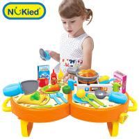 过家家套装小男宝宝餐具组合迷你做饭玩具过家家玩具女孩仿真厨房