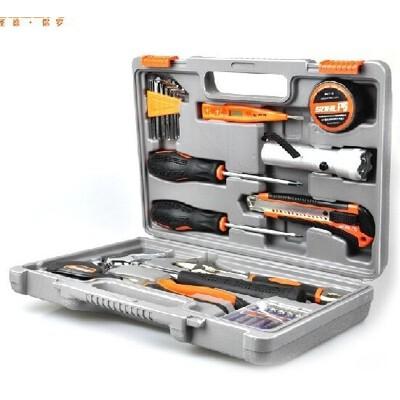 德国圣德保罗 SD-008 家用维修五金工具套装工具箱 28件