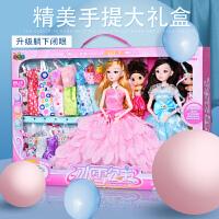 换装芭比娃娃套装大礼盒别墅城堡会说话的洋娃娃公主女孩玩具