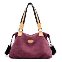 包包2018新款帆布包女包单肩包斜挎包韩版女士大容量手提包休闲包