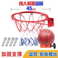 户外儿童篮球框 壁挂式青少年篮球架室内标准投篮圈架子男孩运动 赠儿童篮球1个+打
