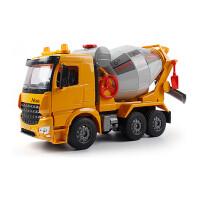 儿童玩具惯性工程车超大号翻斗车运输卡车搅拌车铲车沙滩汽车