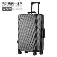 行李箱男潮韩版密码个性旅行箱子万向轮旅游箱包铝框皮箱拉杆箱女