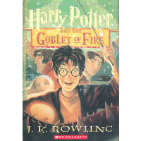 Harry Potter And The Goblet of Fire 《哈利・波特和火焰杯》(美国版,平装) ISBN 9780439139601