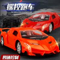 遥控汽车男孩儿童玩具电动模型2兰博基尼方向盘遥控车充电赛车