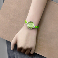 少女装饰手表女韩版潮流时尚简约石英表学生防水森系清新闺蜜手表