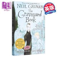 【中商原版】The Graveyard Book 纽伯瑞童书奖:坟场之书 英文原版 进口图书 儿童文学 英语小说 雨果*