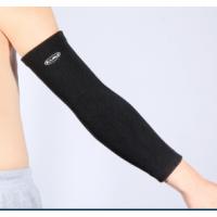 凯瑞运动篮球护肘男春夏加长护臂护肘护具运动跑步骑行装备2只装 黑色