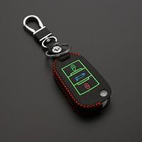 专用雪铁龙新爱丽舍C4L C4世嘉 C3-XR C5 C6汽车真皮钥匙包钥匙套