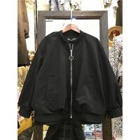 V7春装新款韩版bf宽松 显瘦短外套女百搭时尚棒球服夹克上衣潮0.5