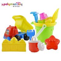儿童沙滩玩具车大号女孩太空玩具沙漏铲子决明子玩具套装