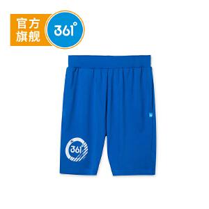 【下单立减2折价:27.8】361度童装男童裤子儿童针织五分裤夏季新款儿童裤子N51822521