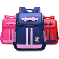 开学书包小学生书包3-6年级儿童背包太空包PU双肩包
