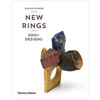 New Rings新款戒指 珠宝首饰设计原版进口书籍