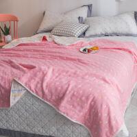 毛巾被毯纱布加厚床单空调夏凉薄被子午休儿童单双人夏季