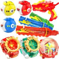 儿童玩具雷古曼手环手表 爆射龙弹龙蛋枪套装男孩