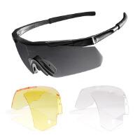 军迷户外 男士太阳镜鹰眼战术护目镜骑行防风墨镜防弹眼镜