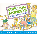 Five Little Monkeys with Nothing to Do 五只小猴子无事可做 9780618040322