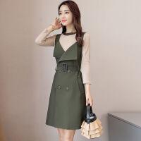 套装女秋装时尚潮气质套装裙韩版女装新款秋季百搭时髦两件套