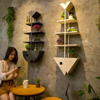 复古创意餐厅墙面置物架工业风奶茶店墙壁装饰品挂件家居墙上壁挂